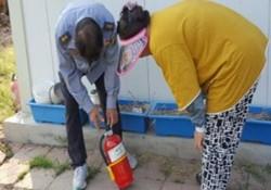장애인 가정 화재감지기 설치