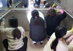 코로나19로 인한 휴관기간 중 시설 유지보수 공사 진행