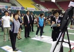 제2회 교육가족인성실천 한궁대회 장애인 개인부 · 단체전 금상 수상
