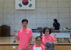 제1회 구미시장배 경북장애인탁구대회 단체전 우승