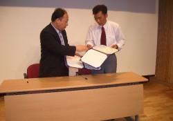 2005-8-3 택시-온 후원결연 체결
