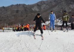 '나도 국가대표'신나는 스키체험 실시