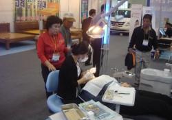 2009-10-23 정보화교육장 이용 고객 의료기기 및 의학품 박람회 견…