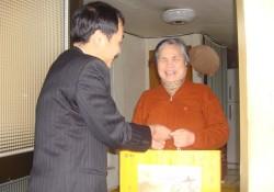 2010-01-09 명절 선물 나누기 실시
