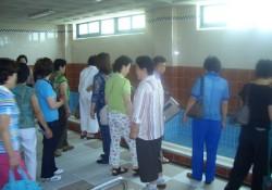 2005-7-22 김천시종합사회복지관 자원봉사단 관람