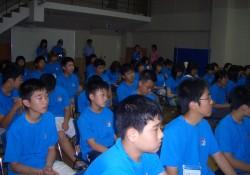 2005-8-16 김천시 청소년 문화체험 캠프단 방문
