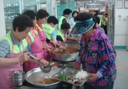 김천신협 봉사단, 김천시장애인종합복지관에서 자원봉사활동 및 무료급식 실시…